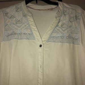 Anthropologie Tops - Anthropologie Button up!